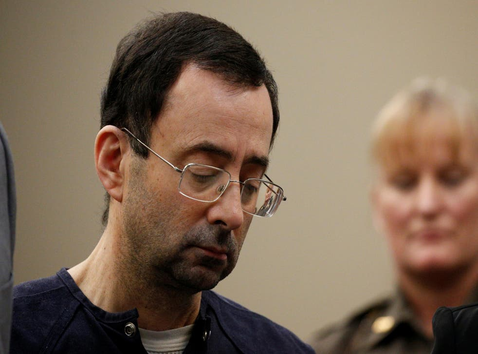 Larry Nassar, a former team USA Gymnastics doctor who pleaded guilty in November 2017 to sexual assault charges