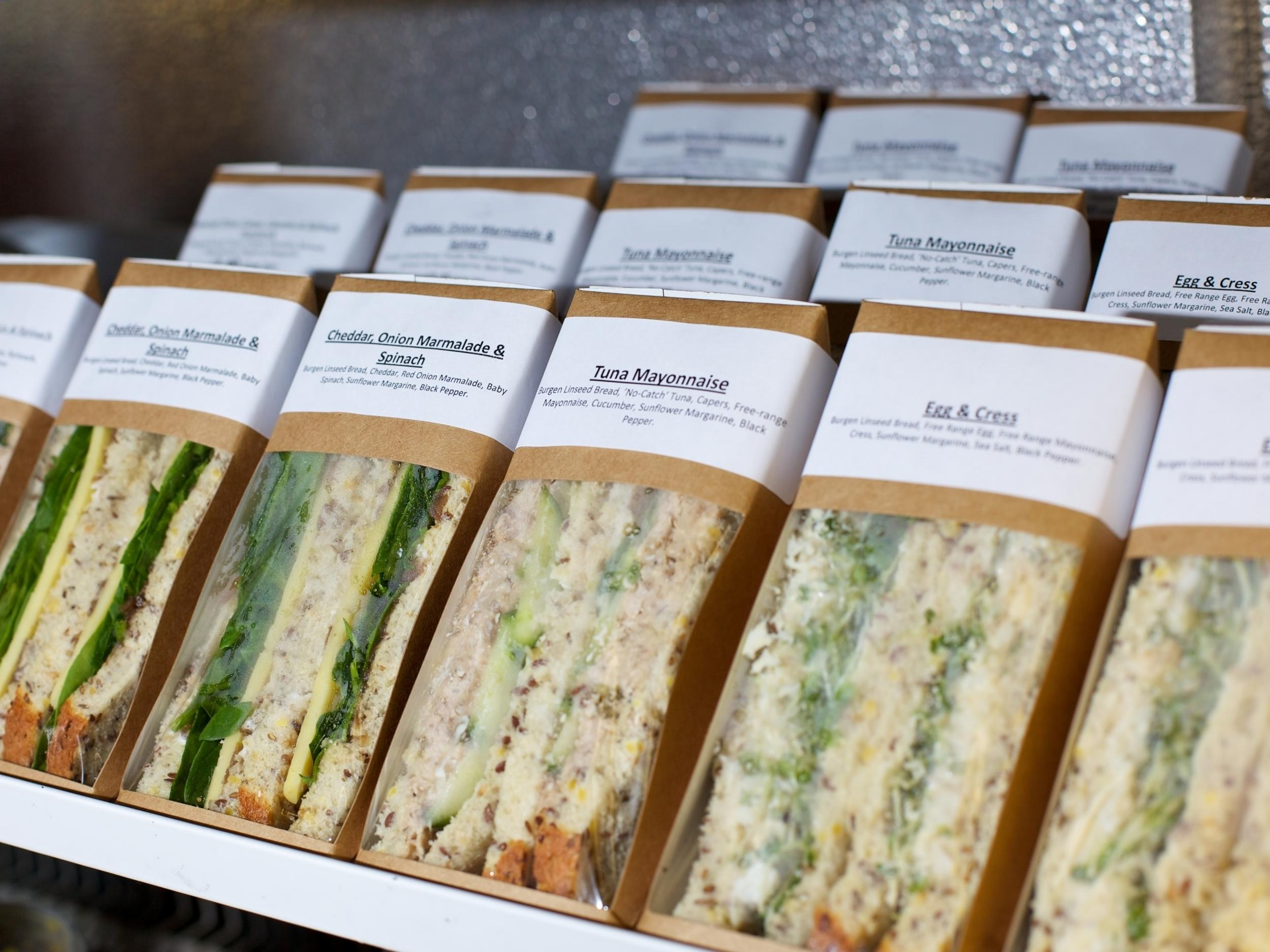 Climate change Sandwiches eaten in UK have same environmental