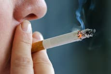 Smoking just one cigarette a day could increase risk of heart disease
