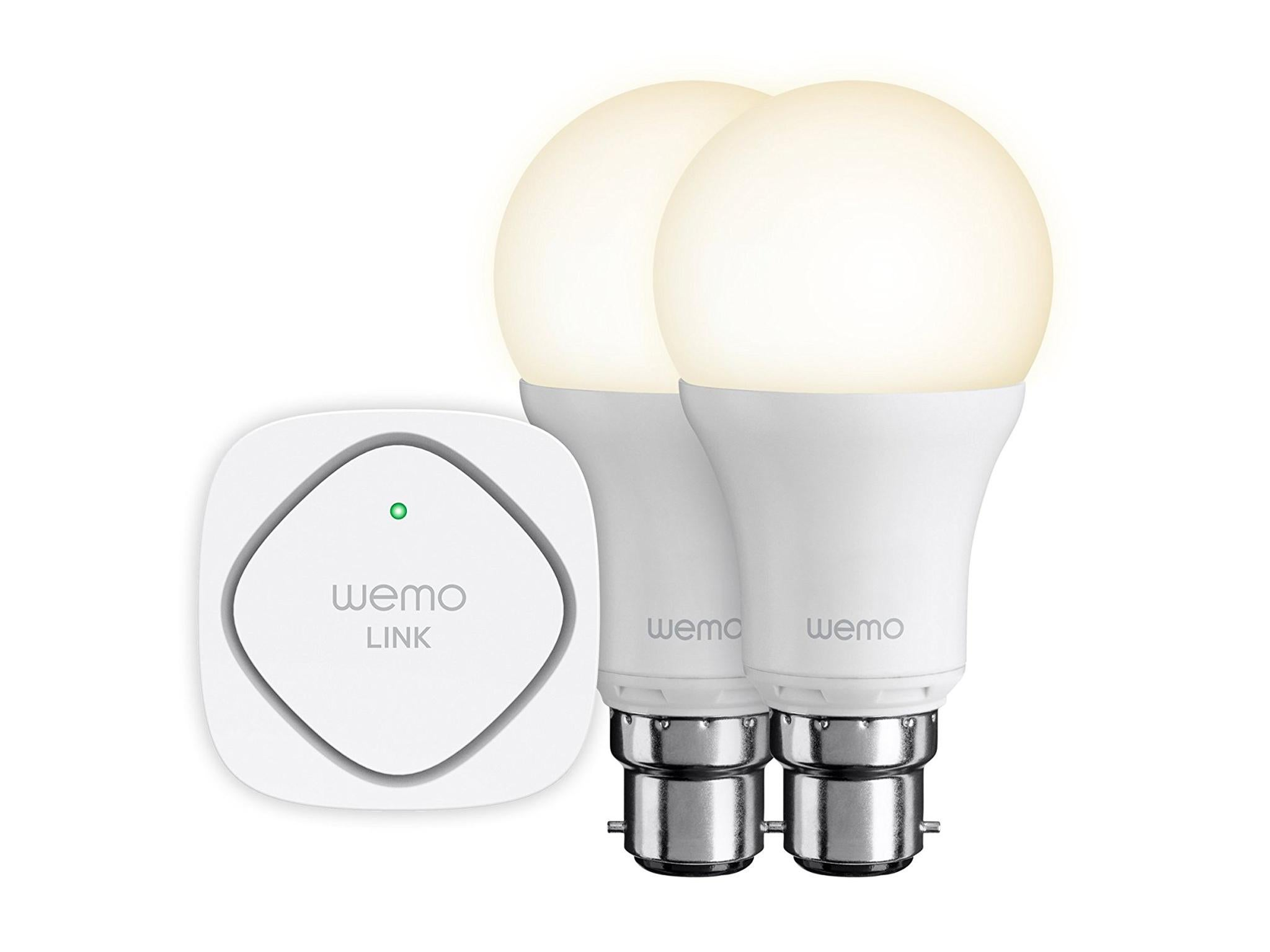 10 Best Smart Lighting The Independent How To Wire Two Lights Controlled From One Switch Belkin Wemo Led Starter Set 80 Staples