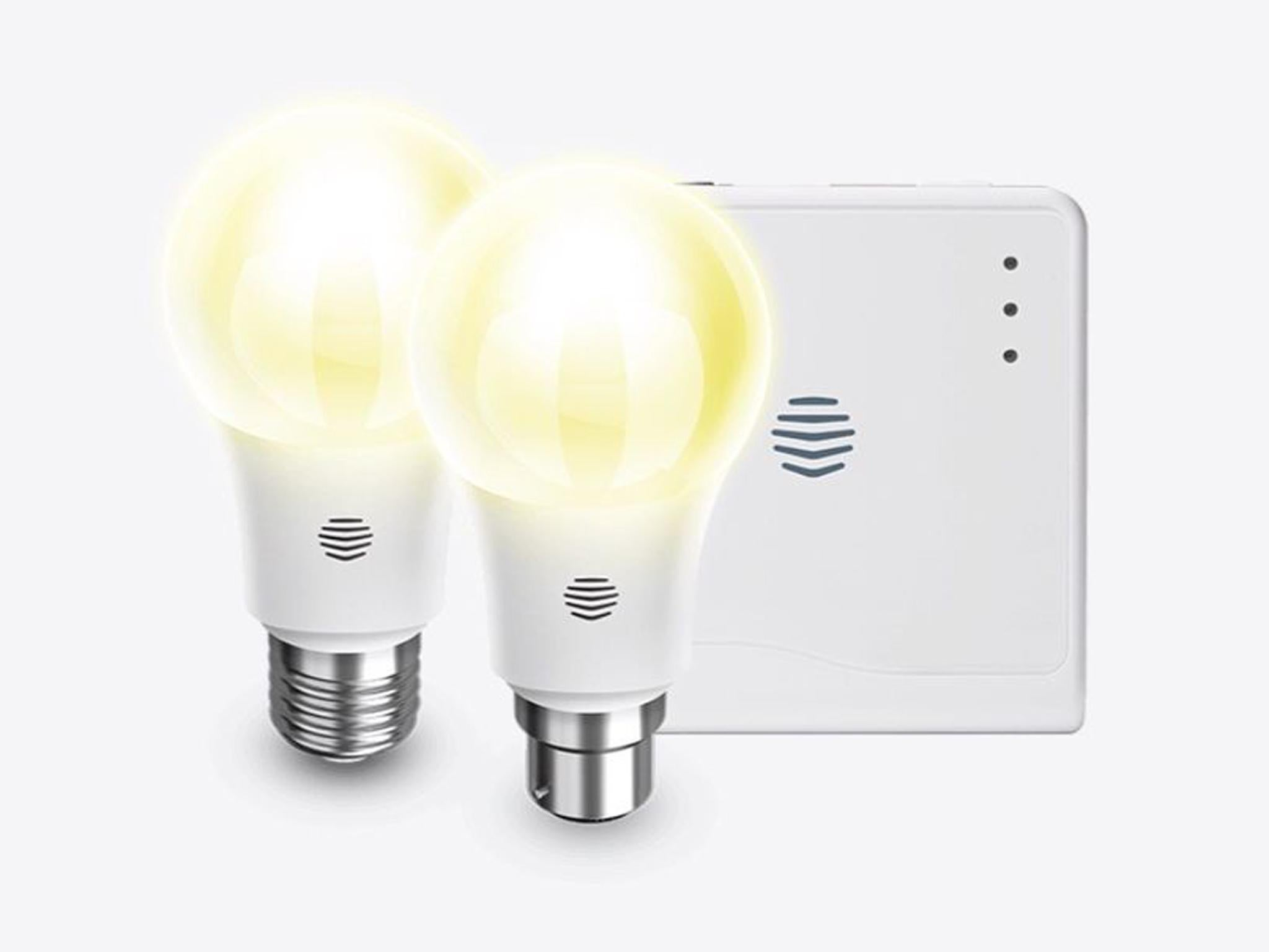 10 Best Smart Lighting The Independent Besides Incandescent Light Bulbs On Bulb Diagram Hive Active Starter Kit 100 Amazon