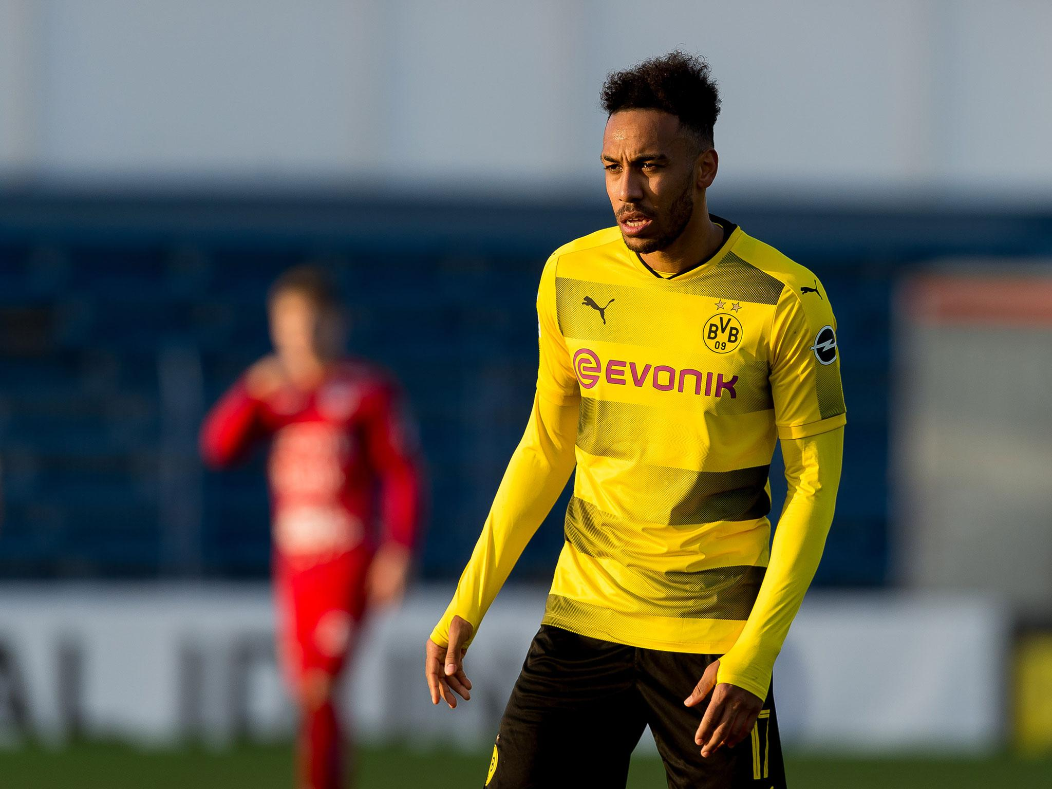 best sneakers 369f8 752e2 Borussia Dortmund want quick resolution to Pierre-Emerick ...