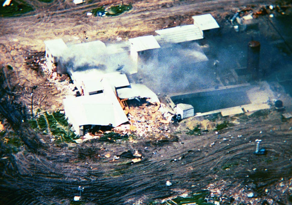 Waco: How a 51-day standoff between a Christian cult and the FBI