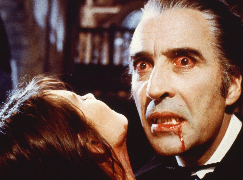 Christopher Lee as Count Dracula