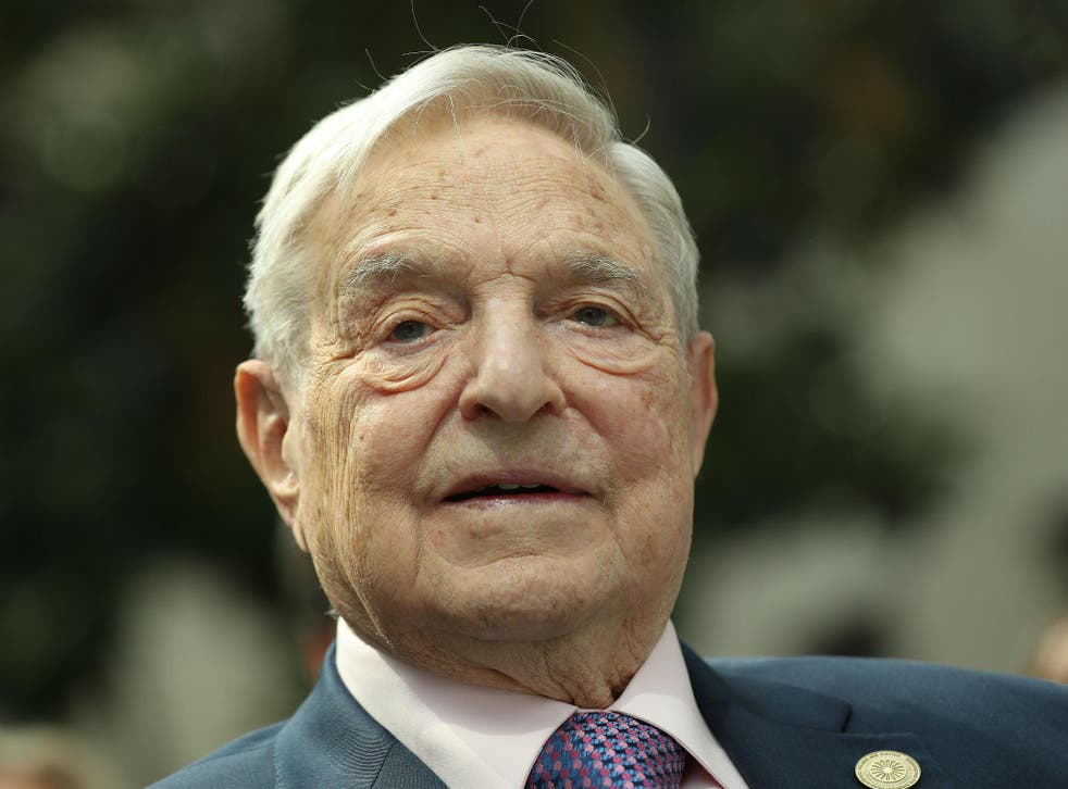 The Hungarian-American philanthropist attracts far-right disdain as he is foreign, has benefitted from UK misery and is a political donor