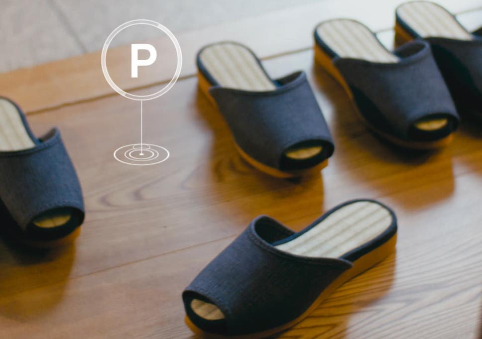 71e8fb010af4  Smart  Japanese hotel opens offering guests self-parking slippers and  intelligent furniture