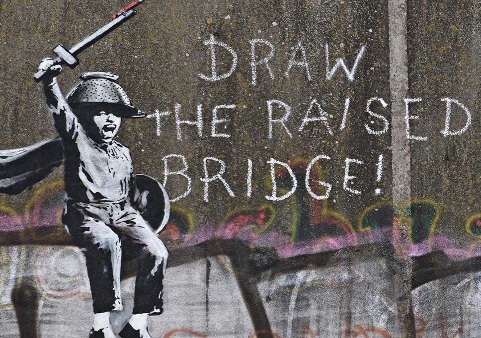 How to draw banksy graffiti art