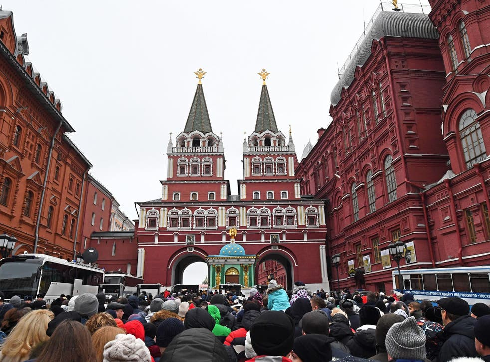 The organisation were said to be based near the Red Square in Moscow