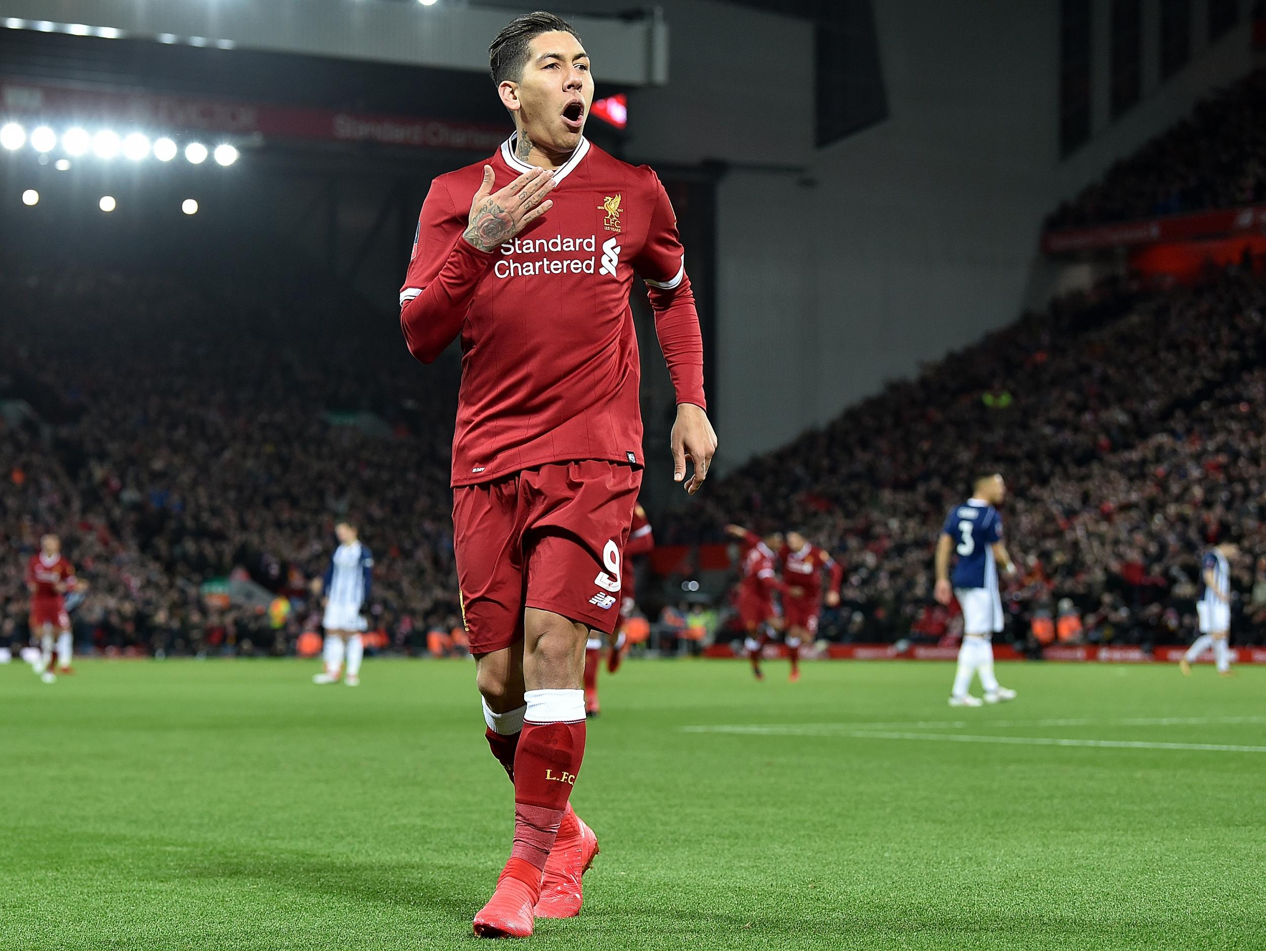 Roberto Firmino Wants To Establish Himself As One Of