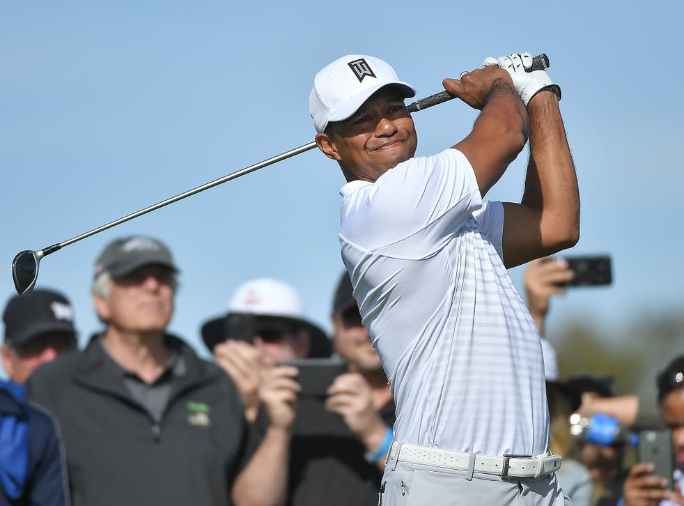 Tiger Woods hits a two-under round of 70 but was not happy with how he played