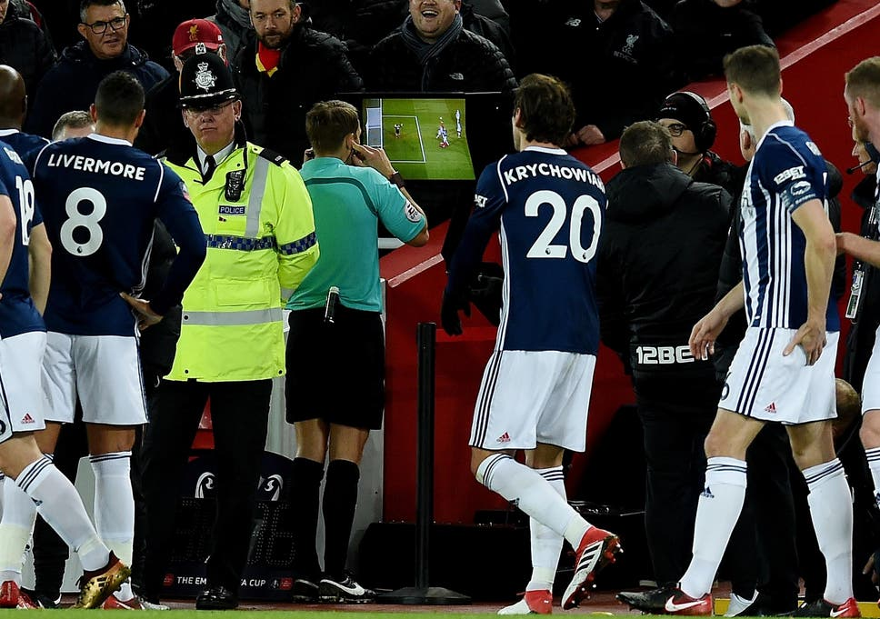 Alan Pardew believes VAR is the cause of two West Brom