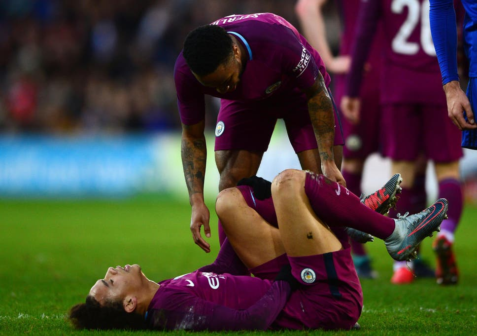 Sane Is Set For A Spell On The Sidelines