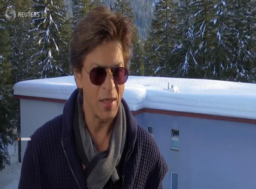 Shah Rukh Khan speaks out against gender inequality.