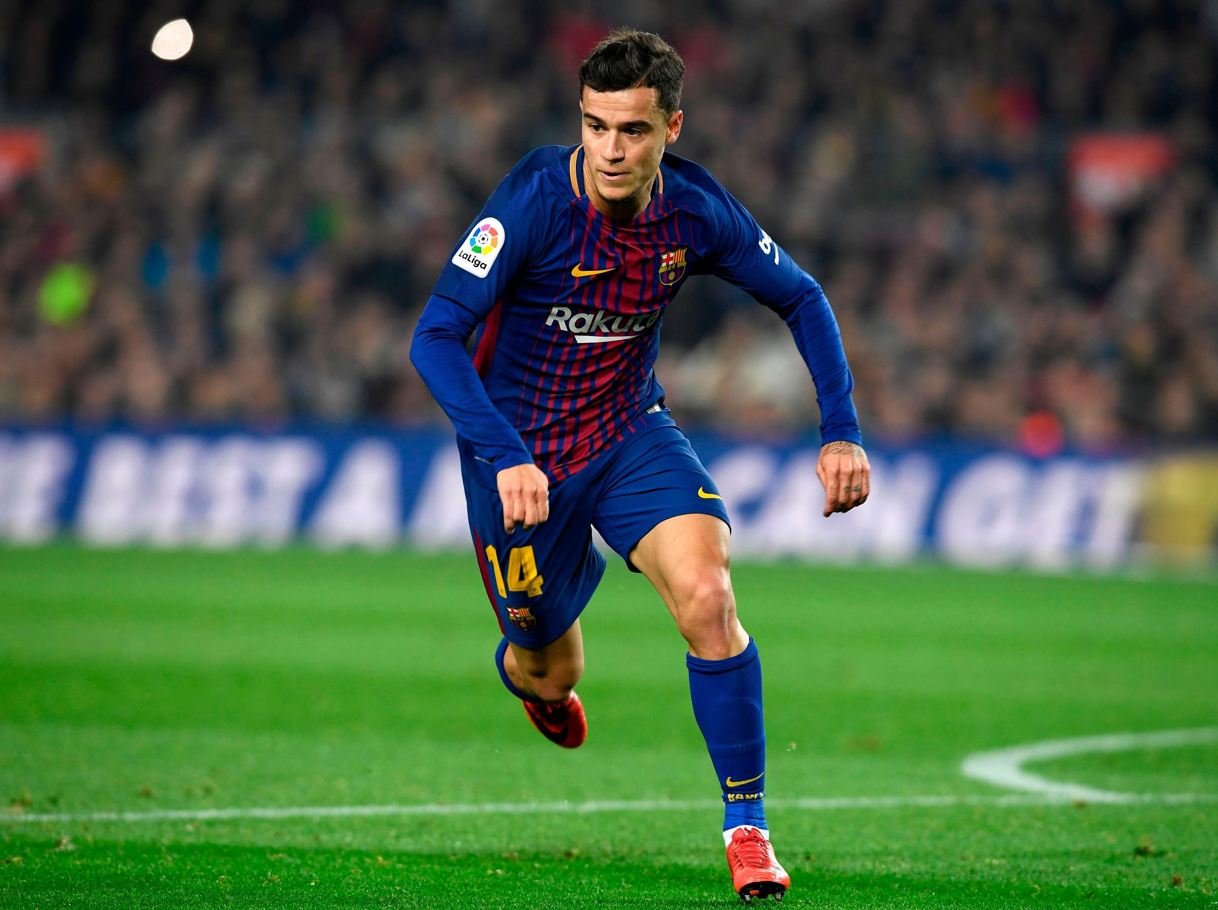 Philippe Coutinho left Liverpool for Barcelona to 'win big titles' and learn from Catalan greats