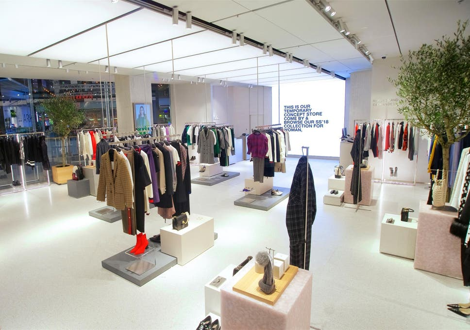 f8b28bec Zara unveils new click-and-collect store | The Independent