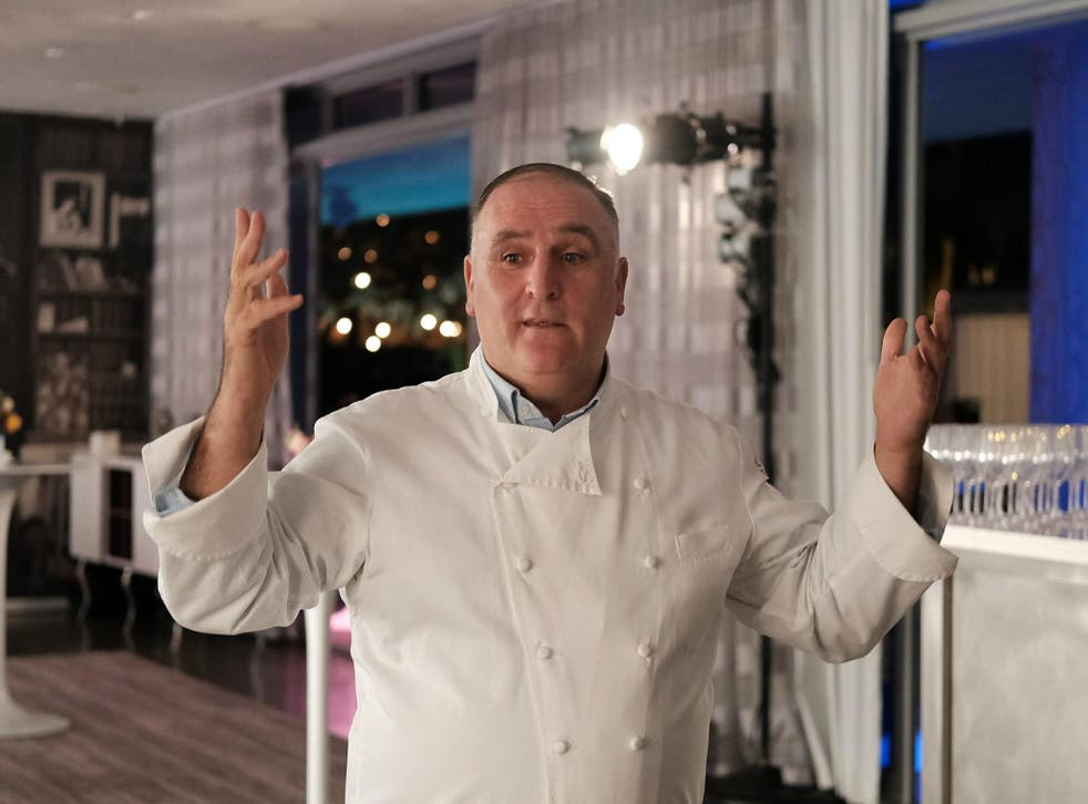 Celebrity chef and activist Jose Andres was reportedly not allowed into a party because Ivanka Trump felt uncomfortable with his presence.
