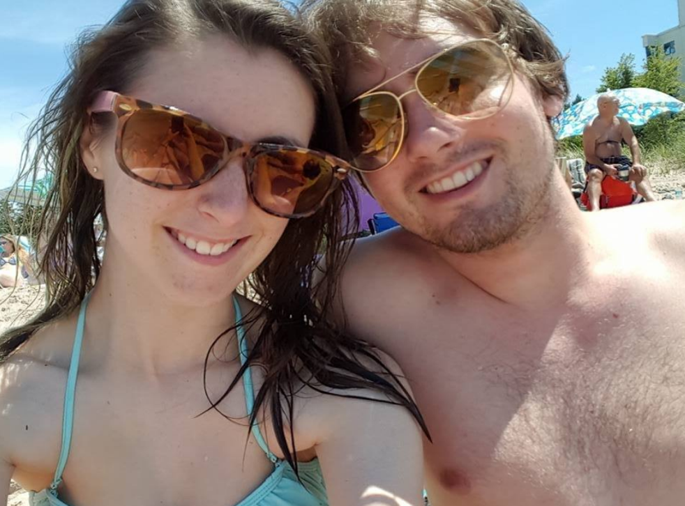 Katie Stephens and Eddie Zytner contracted worms while on holiday
