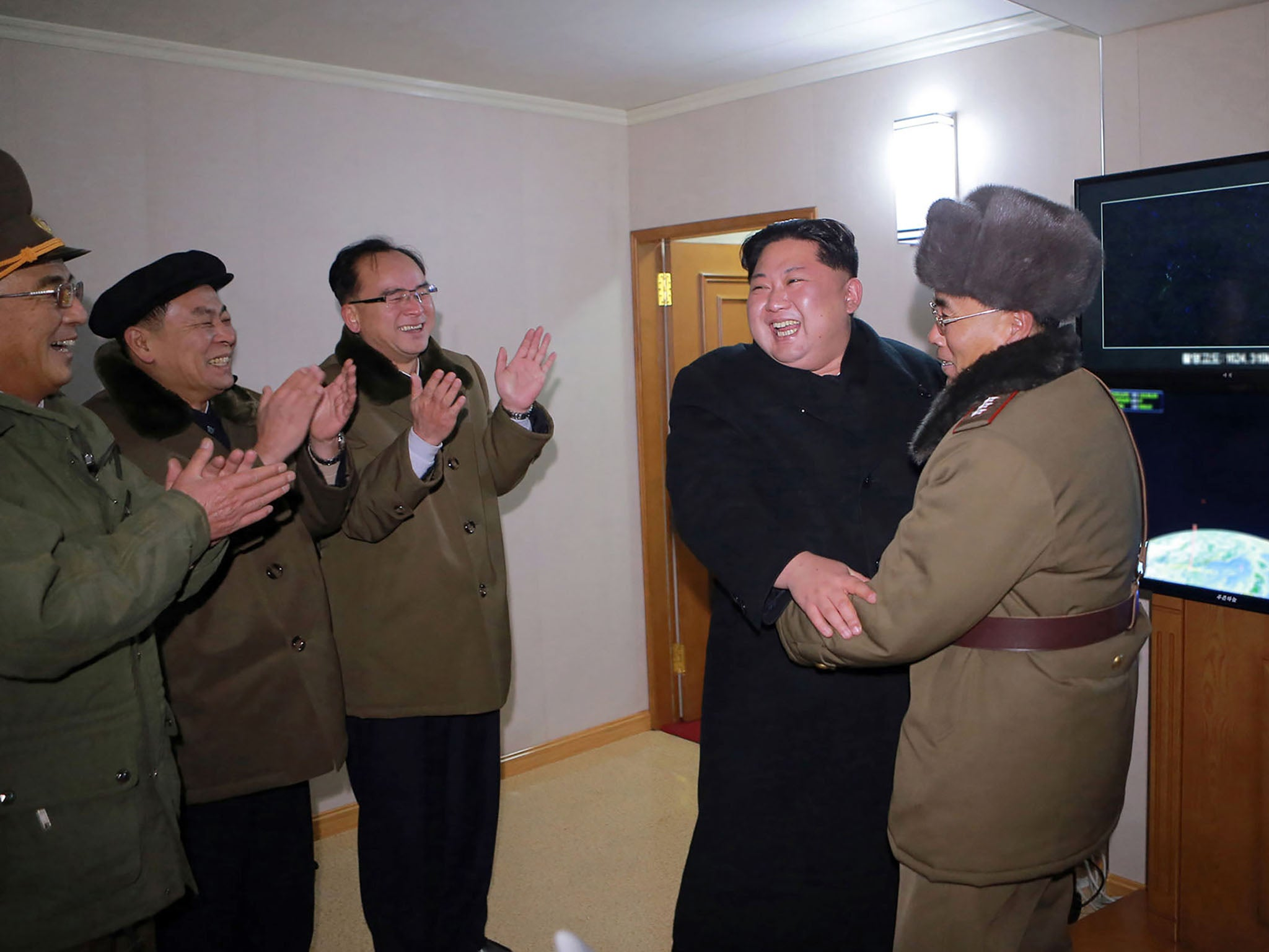 Trump says Kim Jong-un 'speaks and his people sit up in attention  I
