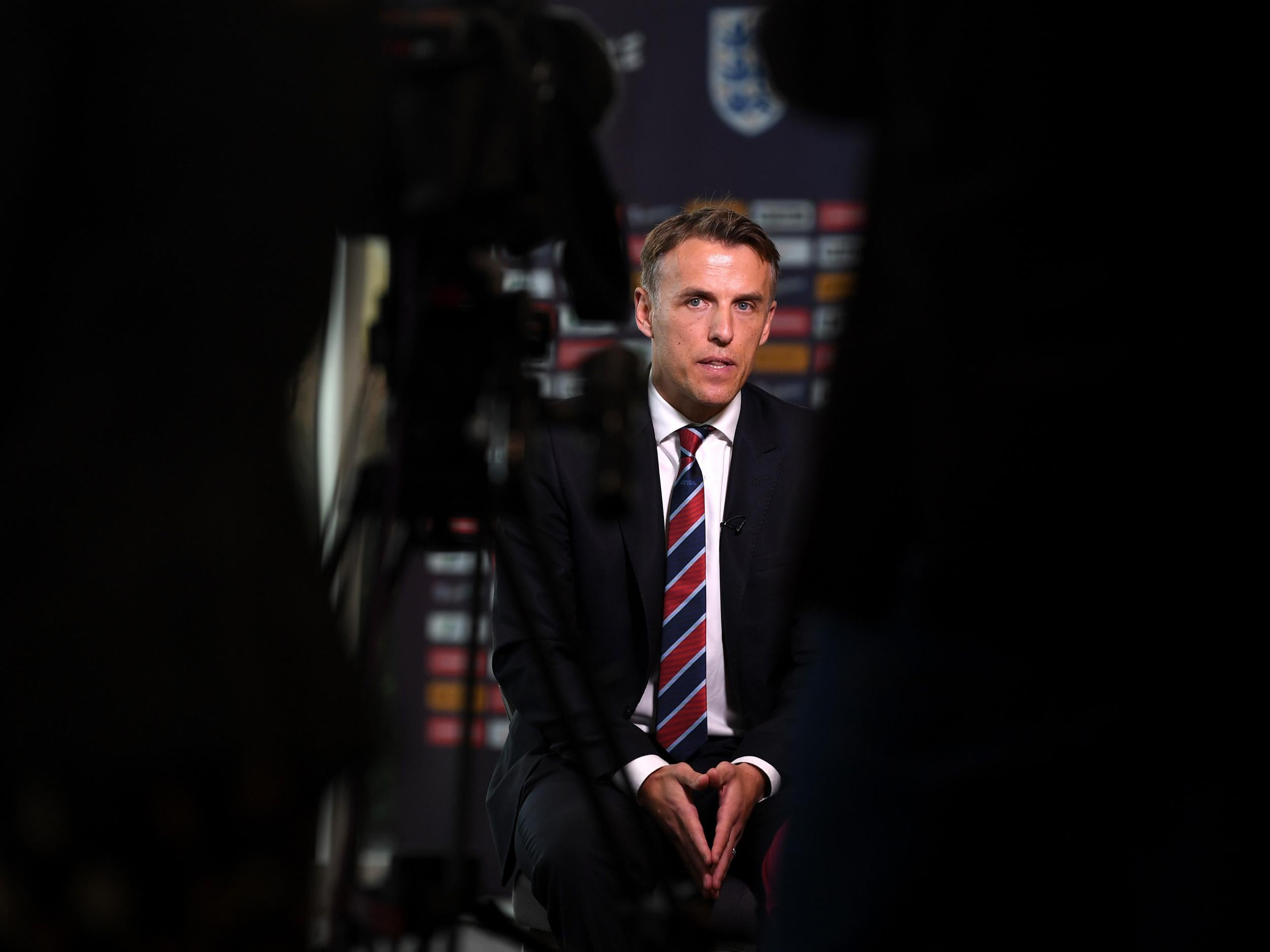 Phil Neville insists he got England job as he was best candidate and urges Manchester United to form women's team