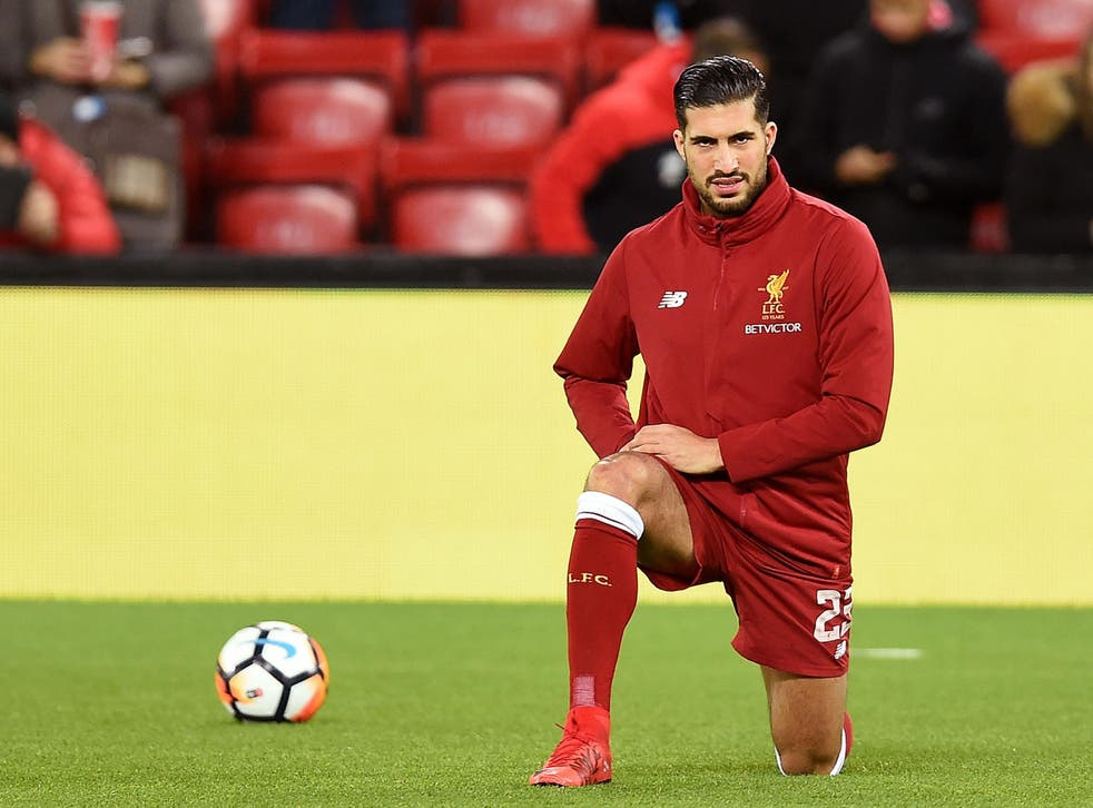 Liverpool midfielder Emre Can is yet to agree a new contract at Anfield