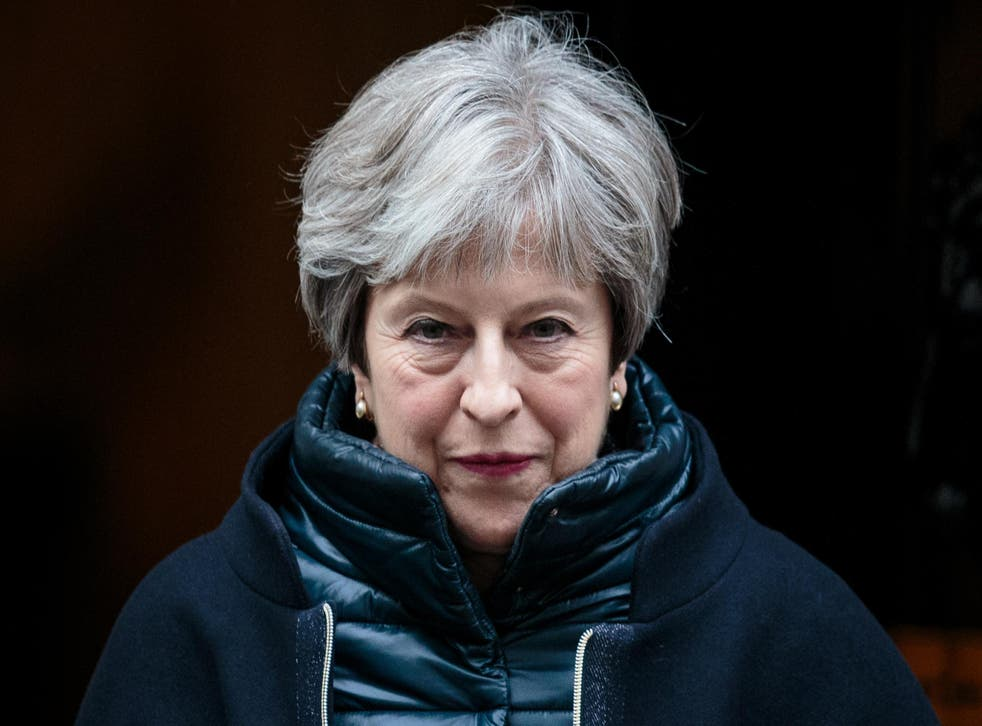 Theresa May is facing pressure over her Brexit strategy