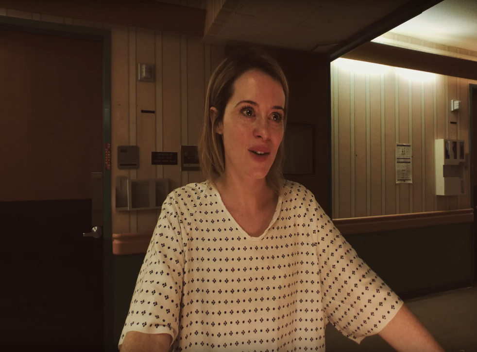 Claire Foy gives an exceptional performance as a woman trapped in a mental institution in 'Unsane'