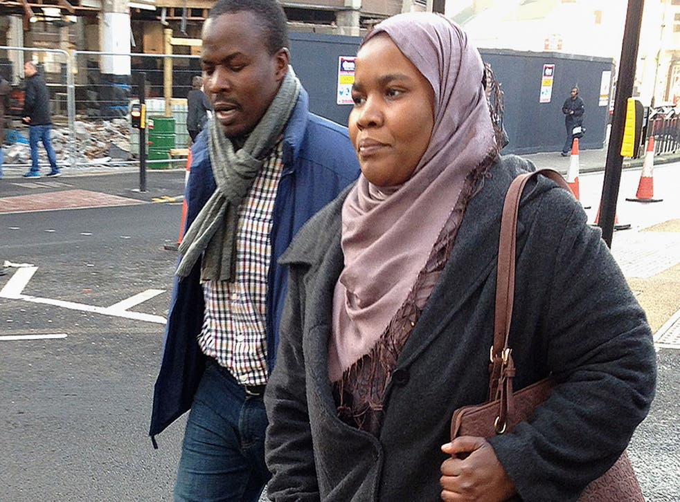 Dr Hadiza Bawa-Garba arrives at Leicester Magistrates Court, Leicester, where she was charged with gross negligence manslaughter in connection with the death of six-year-old boy Jack Adcock who had Down's syndrome