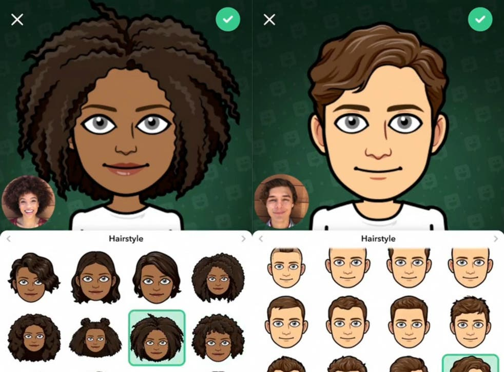 How to create personalised Bitmoji on Snapchat and use