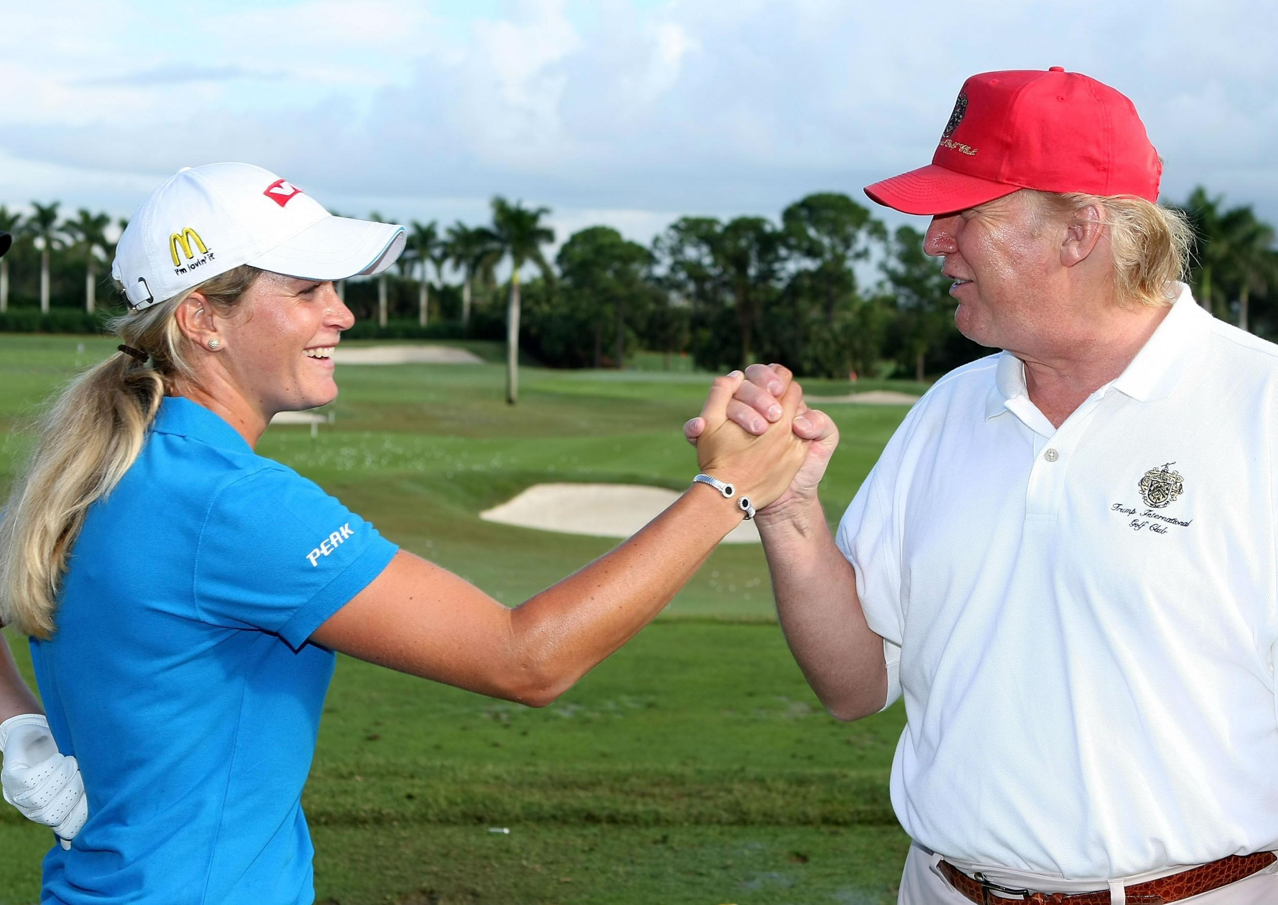 a39bd6f5e6d Donald Trump  cheats like hell  on the golf course says President s pro  golfing partner