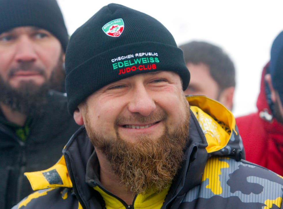 Chechen leader Ramzan Kadyrov said reports of human rights abuses were an 'invention by foreign agents'
