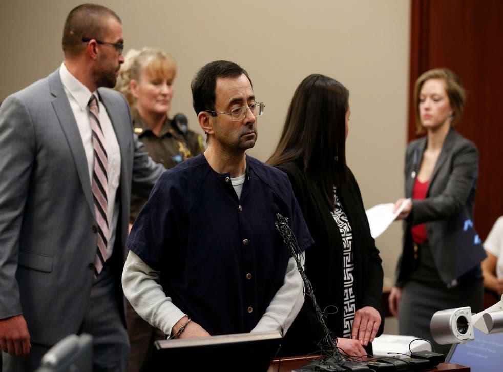 This is Nassar's third sentencing hearing