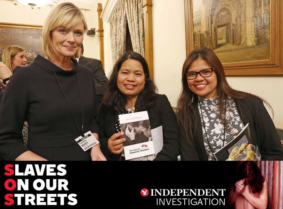 ITV news presenter Julie Etchingham attended the publication's opening reception, along with Marisa Beggonia and Mimi Valera