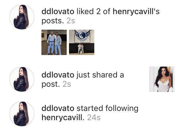 Everyone should take notes from Demi Lovato's Instagram chat