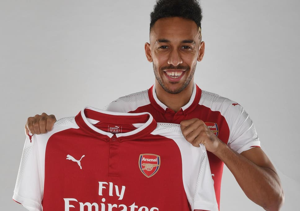 best value 79c44 e9c76 Arsene Wenger reveals why he signed Pierre-Emerick ...
