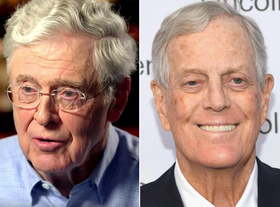 The Koch network is one of the most powerful conservative groups in the US