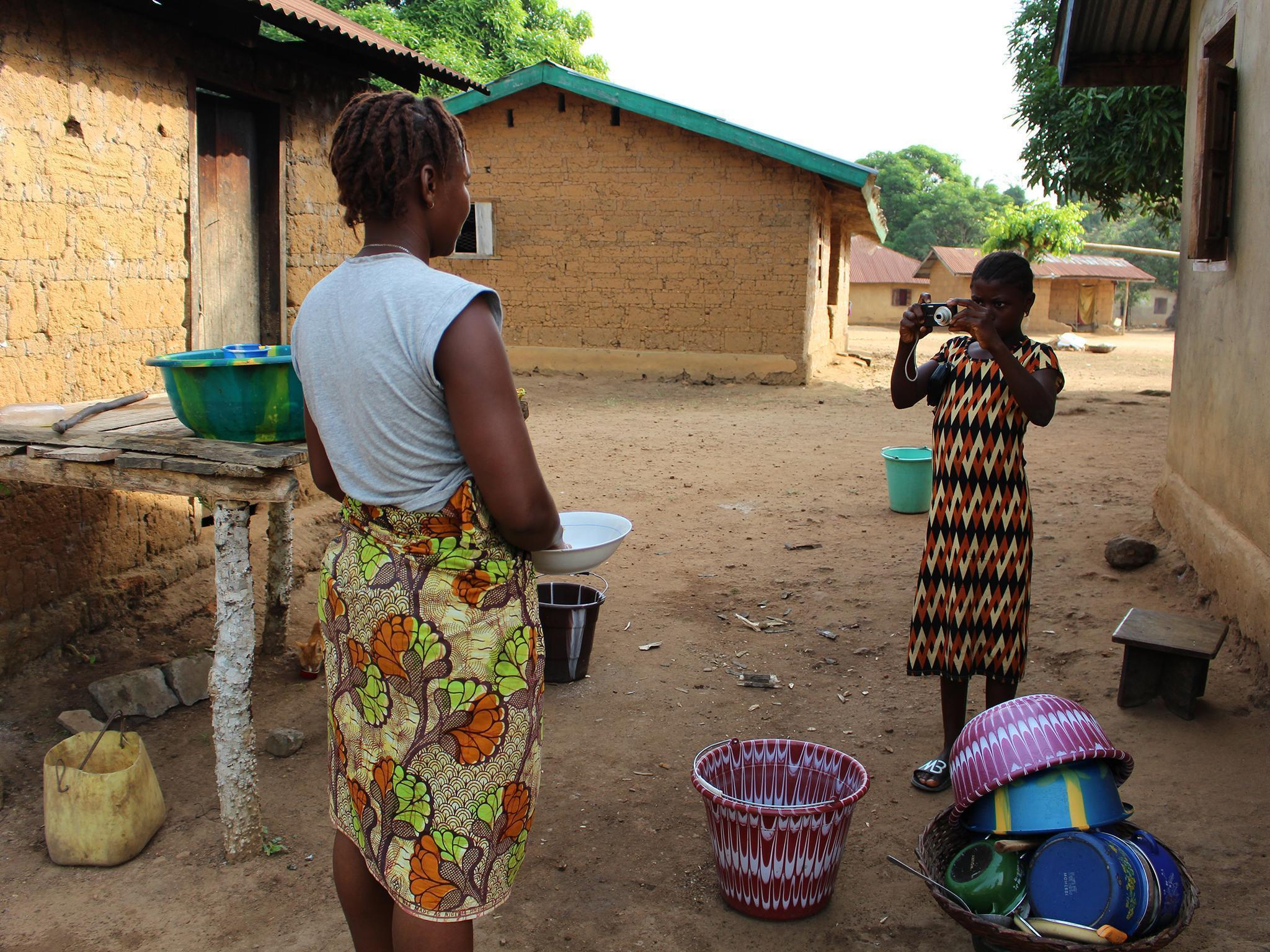 Pictures reveal how a village in Sierra Leone is recovering from the Ebola crisis