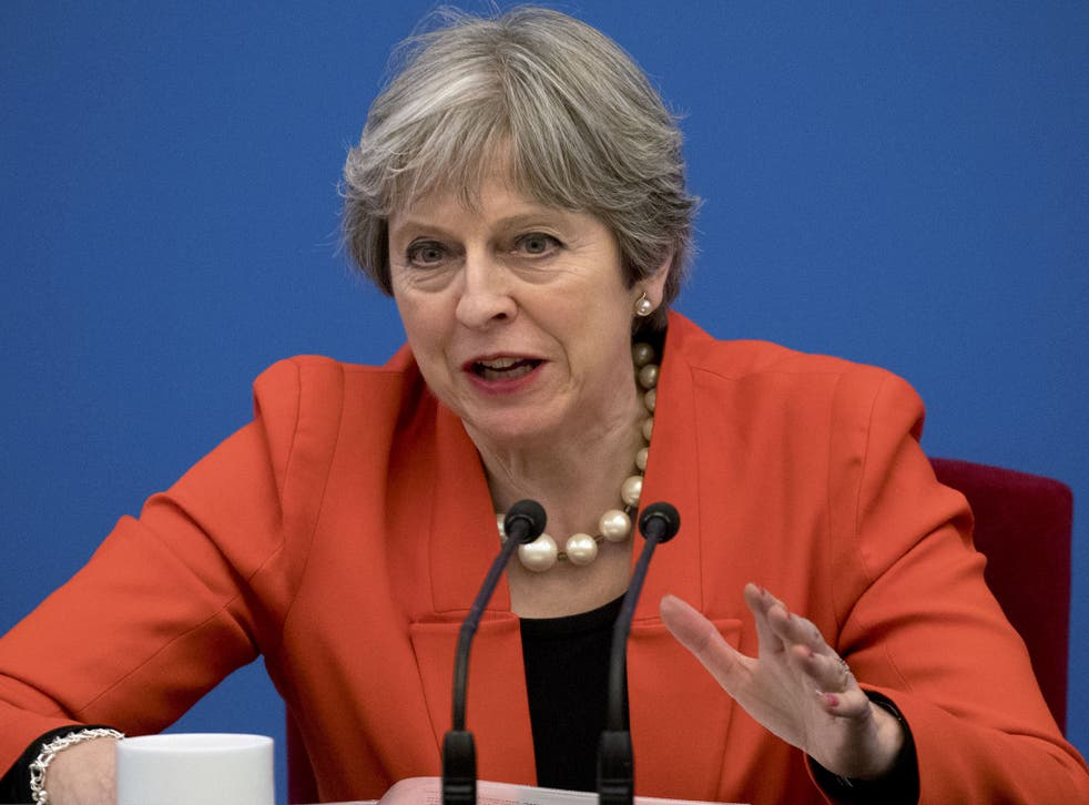 Ms May had insisted that the situation would be 'different' for people who arrived during the transition period because 'they will be coming to a UK that they know will be outside the EU'