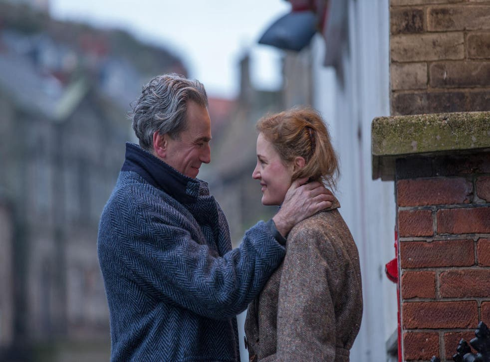 Reynolds Woodcock (Daniel Day-Lewis) and Alma (Vicky Krieps) in Paul Thomas Anderson's latest