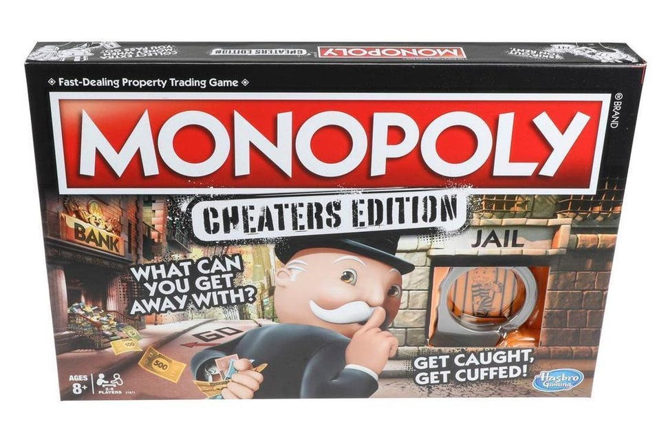 Monopoly releases special edition of board game for cheaters the monopoly releases special edition of board game for cheaters reheart Image collections