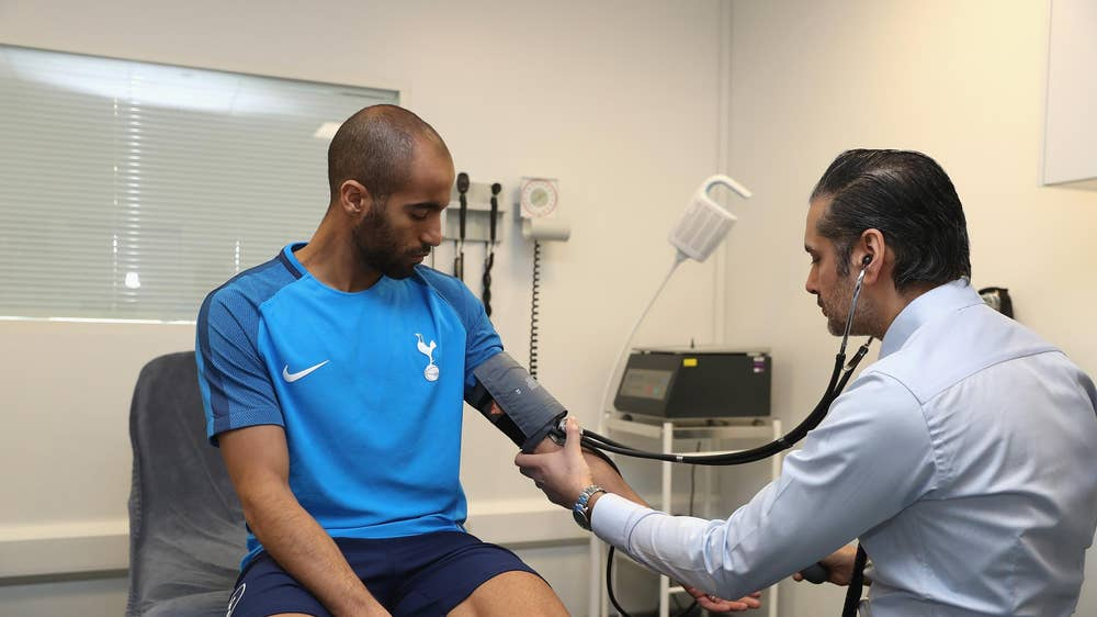 The six stages of a football medical