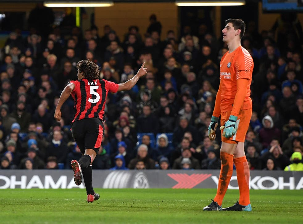 Nathan Ake scores against his former side to make it 3-0