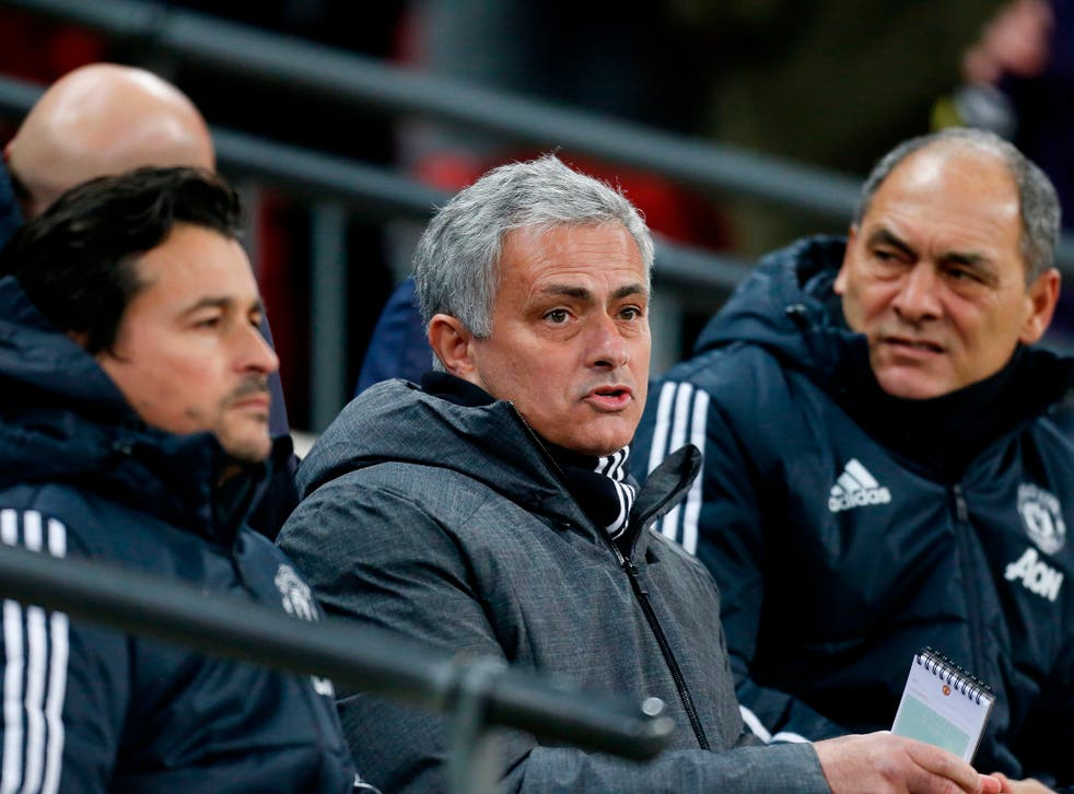 Jose Mourinho was deeply unimpressed by his side's defeat