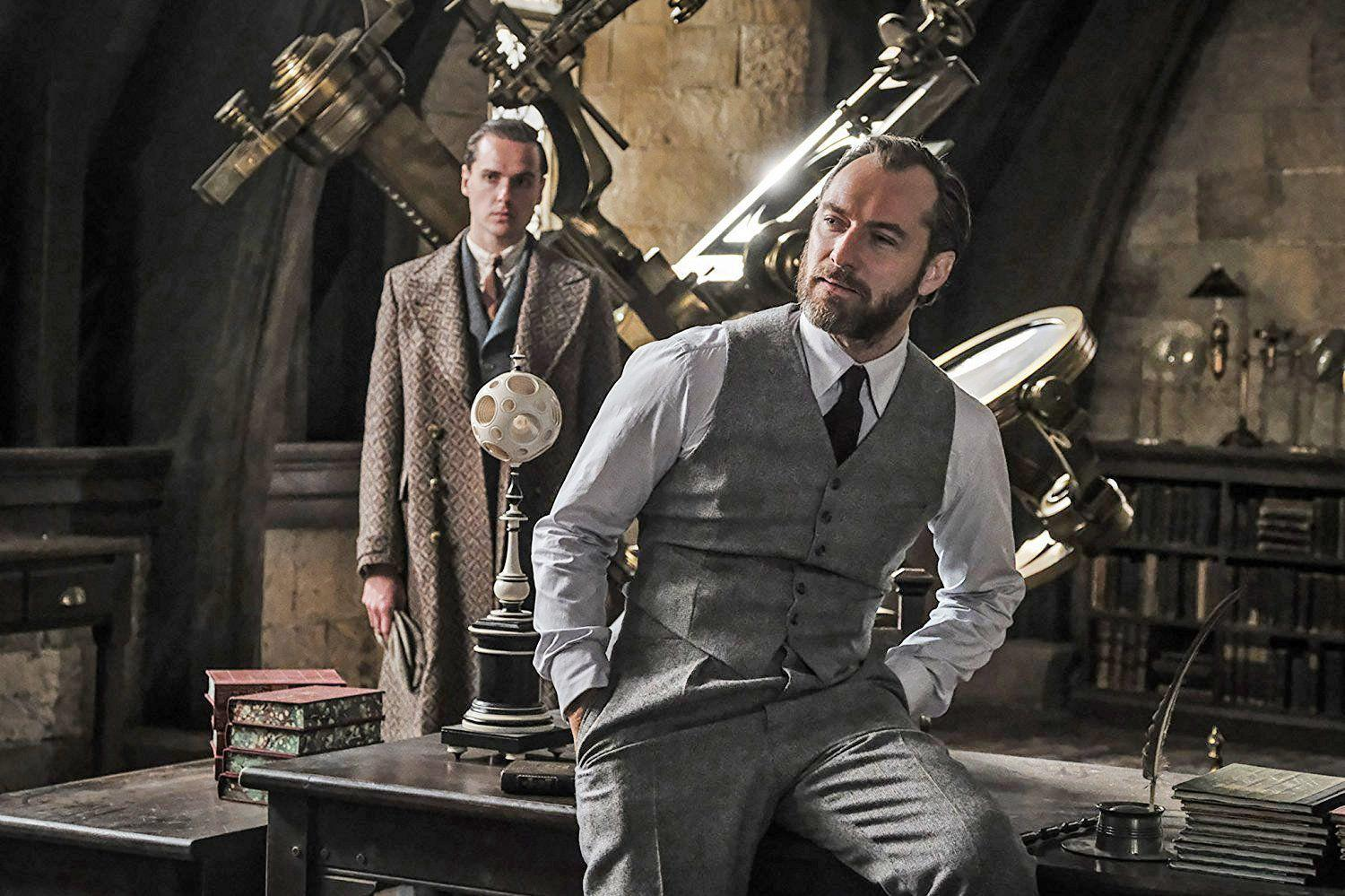 Jude Law Reveals Whether Dumbledore Is Gay In Fantastic