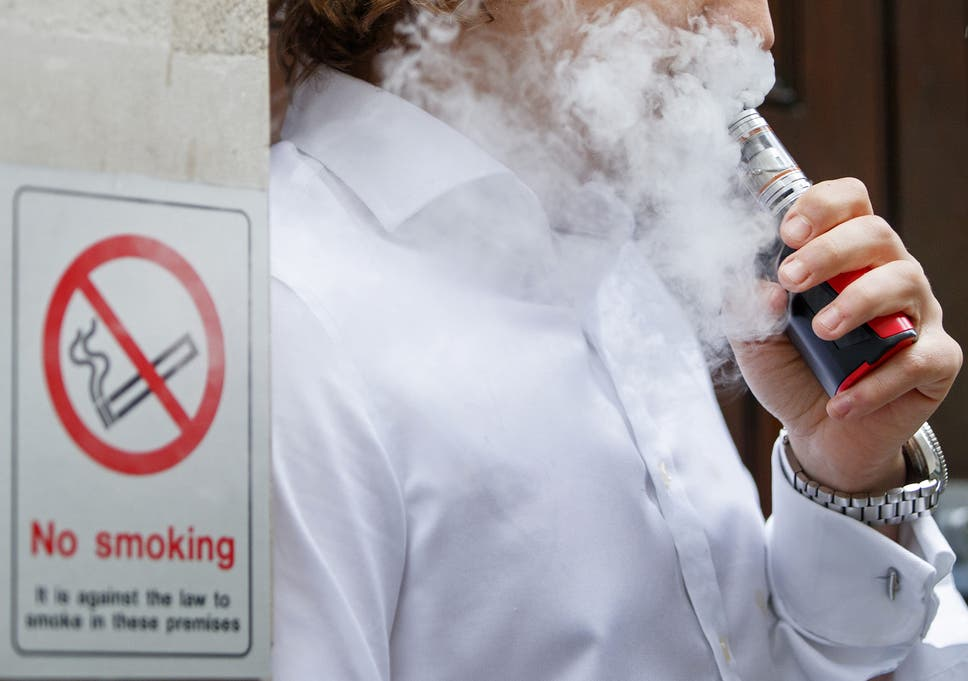 Smoking ban should not apply to e-cigarettes and vaping should be
