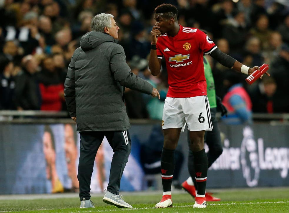 Pogba was disappointing in his 63 minutes on the pitch