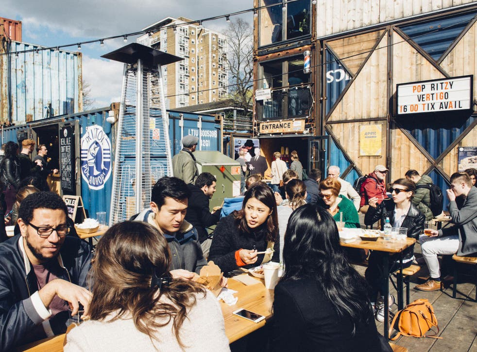 Located in a so-called 'meanwhile space', the social enterprise has an annual turnover of £18m