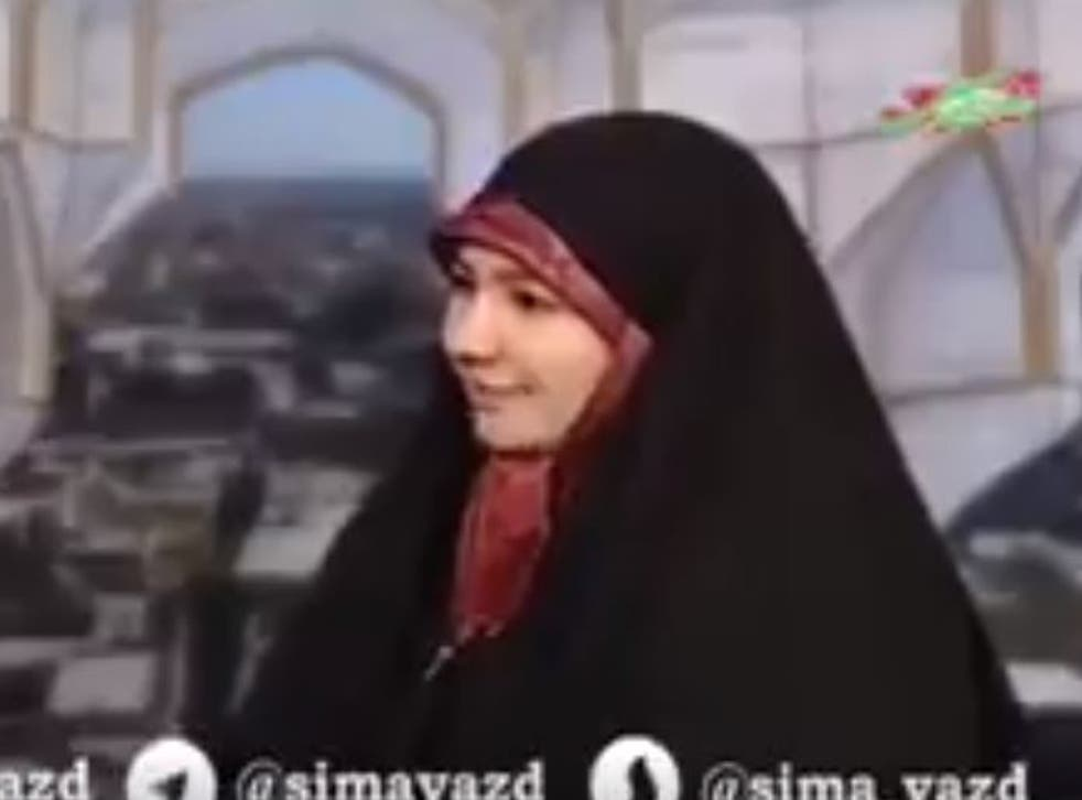 Iranian state TV show which allegedly gave advice to domestic violence victims