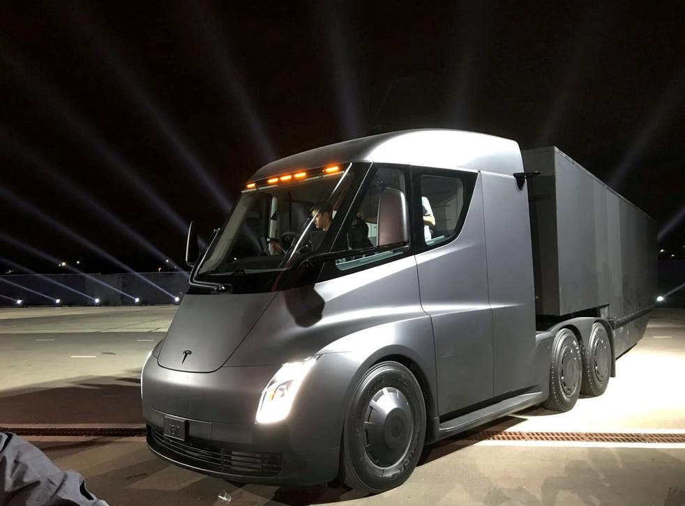 Tesla's new semi-truck is set to roll out next year