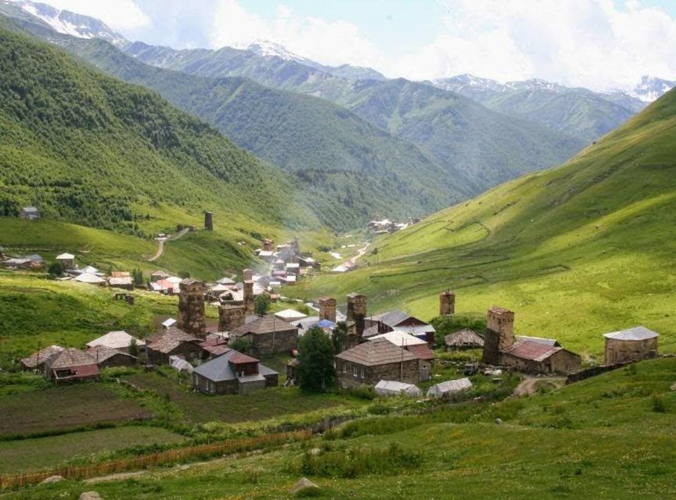 Svaneti is one of the country's most isolated areas