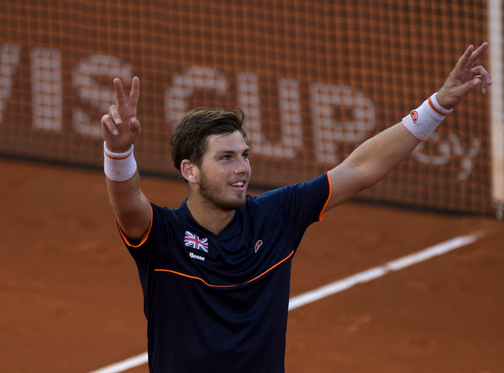 Cameron Norrie rose to the occasion